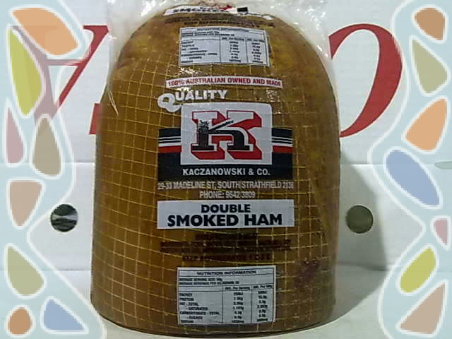 Double Smoked Ham Netted